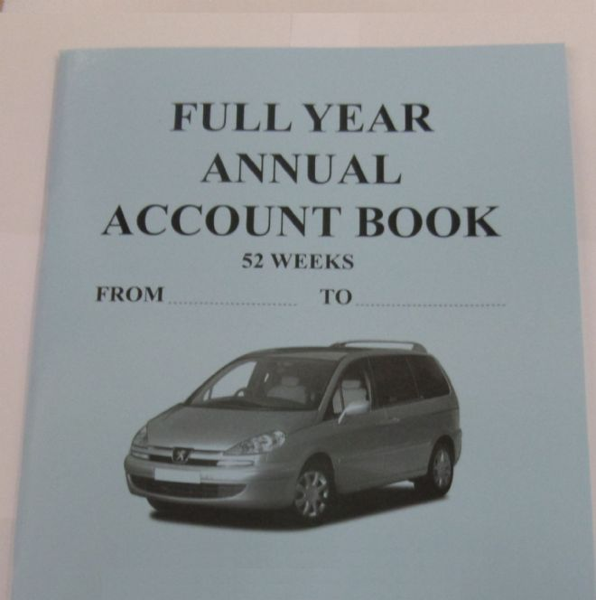 TAXI METER DRIVER ACCOUNT BOOK A5 SMALL CASH TAKINGS UK